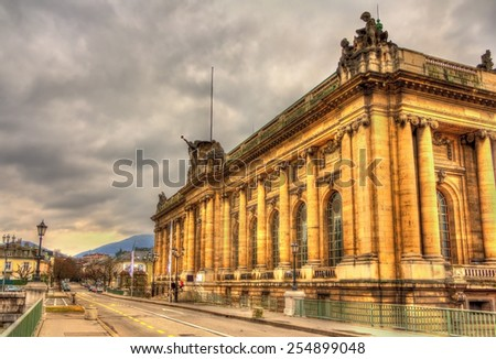 Musee d'Art et d'Histoire in Geneva, Switzerland - stock photo