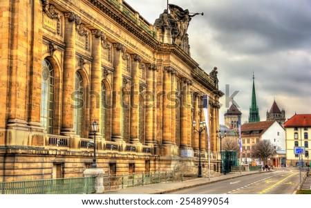 Museum of Art and History in Geneva, Switzerland - stock photo
