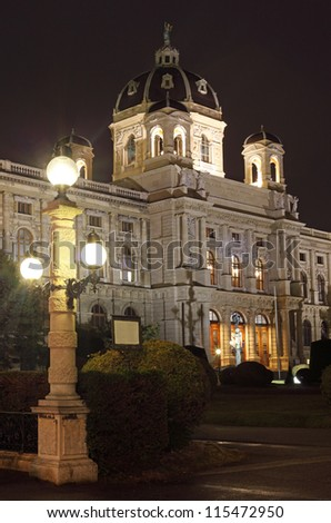Museum of Natural History in Vienna, Austria - stock photo