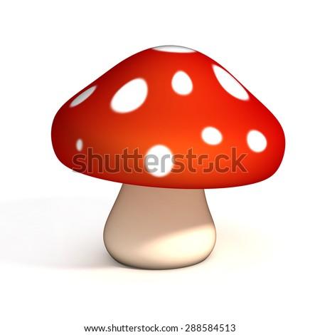 Cartoon Mushroom Stock Images Royalty Free Images Amp Vectors
