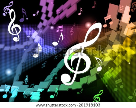 Music Background Meaning Musical Piece And Harmony