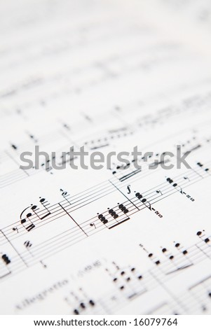 music concept background - stock photo
