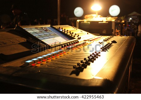 Music Control in concert
