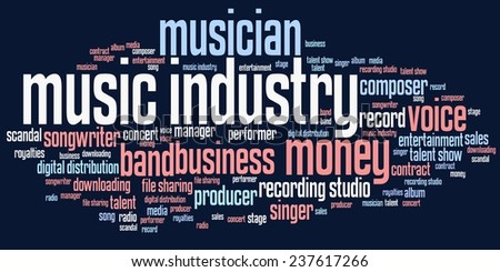 issues of the music industry The music industry's broken business could change in the outcome will be determined in part by whether congress takes up the issues the music industry.