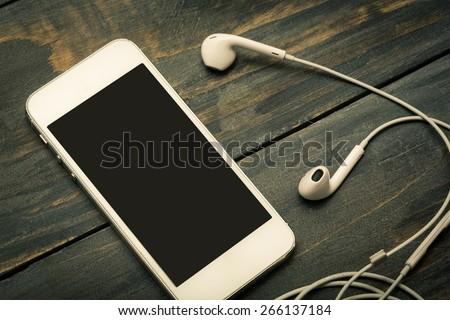 Music, market, network. - stock photo