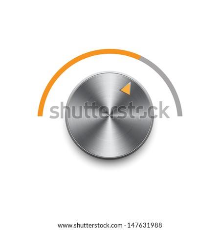 Music volume  - stock photo