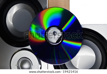 Musical columns and disk
