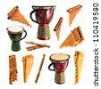 musical instrument - stock photo