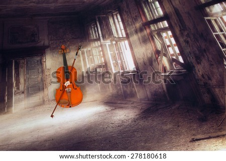 Musical instrument,  - stock photo