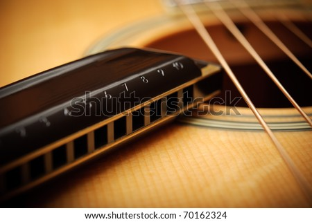 musical Instruments - stock photo