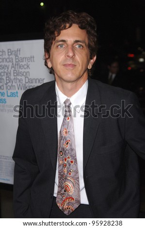 "Musician MICHAEL PENN (brother of Sean Penn) at the Los Angeles premiere of ""The Last Kiss"". September 13, 2006  Los Angeles, CA  2006 Paul Smith / Featureflash"