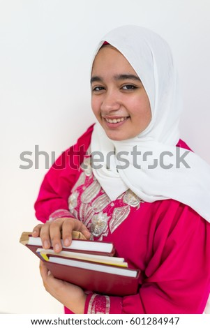 Muslim Arabian girl