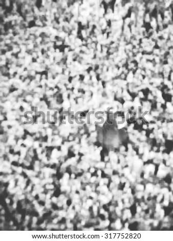Muslim pilgrims circumambulate the Kaaba after dawn prayer at Masjidil Haram in Makkah, Saudi Arabia. Muslims all around the world face the Kaaba during prayer time. - stock photo