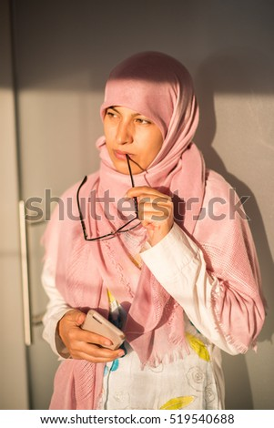 Muslim traditional woman