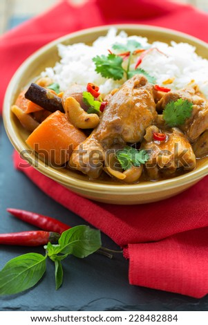 Mussaman curry, Thailand - stock photo