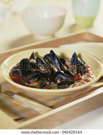 Mussels and Tomato Sauce