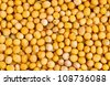 Mustard seeds  as food background - stock photo
