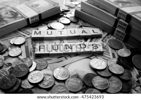 Mutual Fund Black & White Stock Photo High Quality