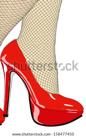 My beautiful red shoes