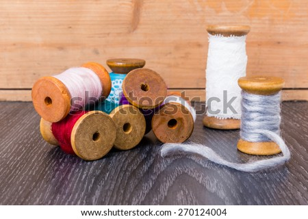 my old style accessories - stock photo