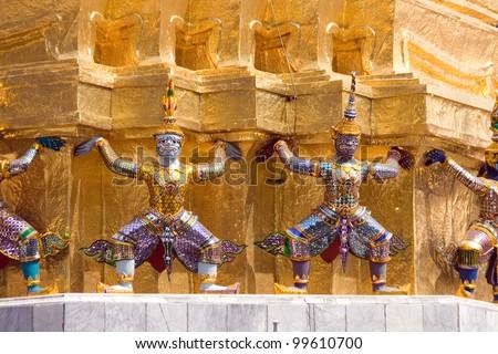 myanmar/walls/ - stock photo