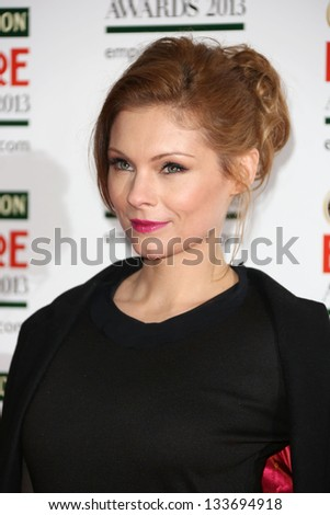 MyAnna Buring arrives for the Empire Film Awards 2013 at the Grosvenor House Hotel, London. 24/03/2013 Picture by: Henry Harris
