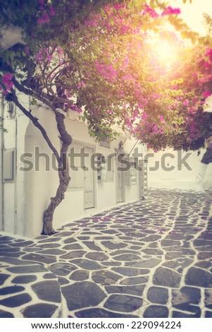 Mykonos island, Greece  - stock photo