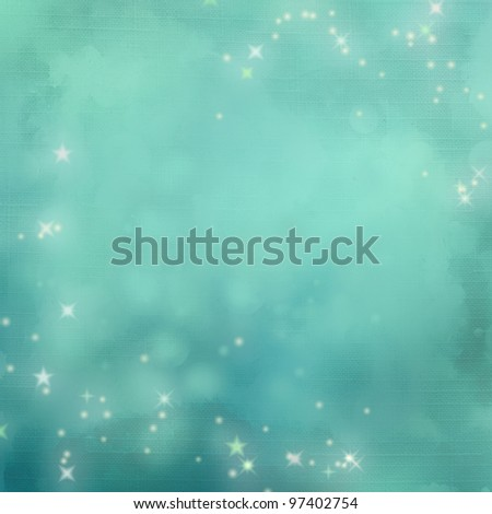 Mystic blue abstract background. Page to design photo books