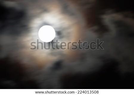 Mystic Moon  - stock photo