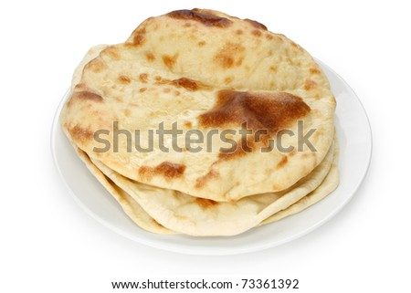 naan , indian flat bread