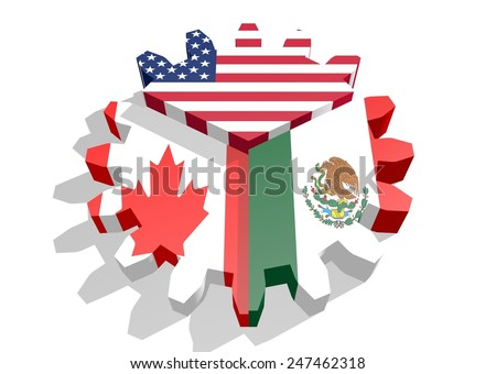 North American Free Trade Agreement Stock Images, Royalty-Free ...