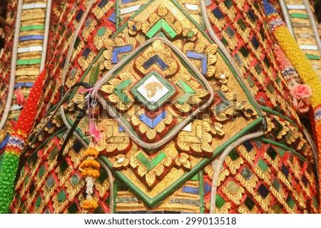 Naga Detail - stock photo