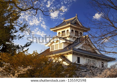 Nagahama, Japan Museum of History for adv or others purpose use - stock photo