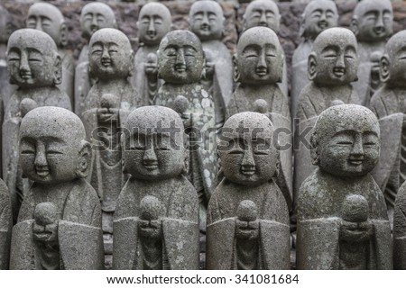 Nagomi jizo - stock photo