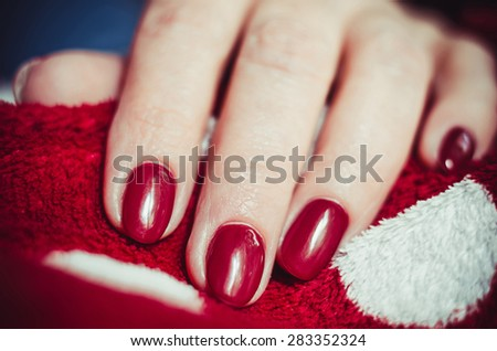 Nail art - stock photo