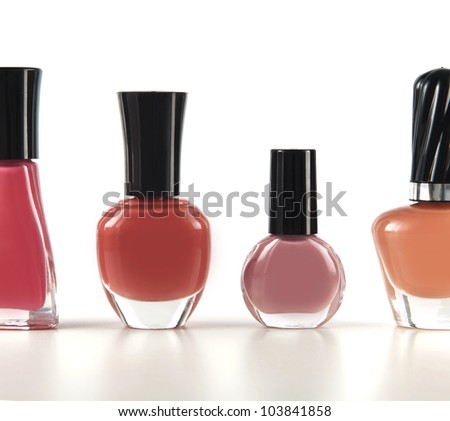 Nail polish colors - stock photo