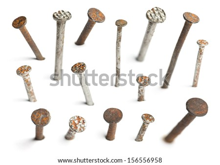 Nails - stock photo