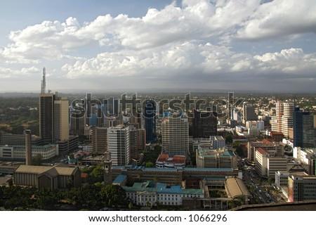 nairobi 010. - stock photo
