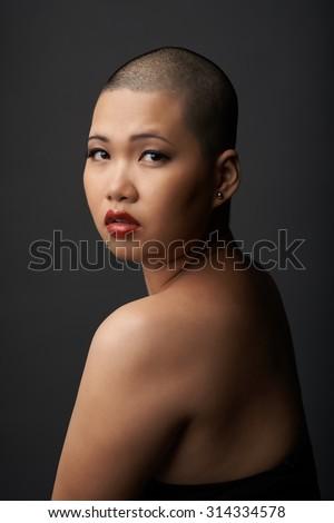 shaved Oriental women