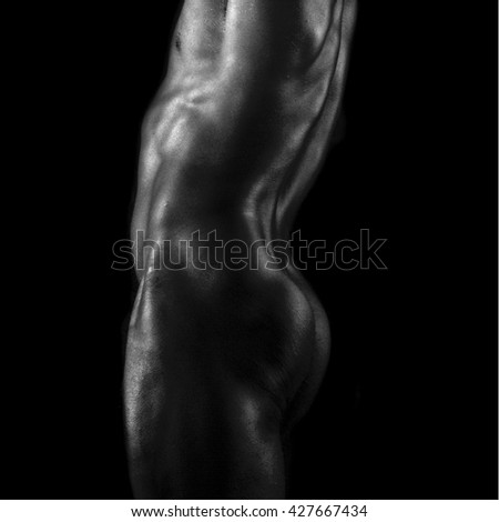 naked black man