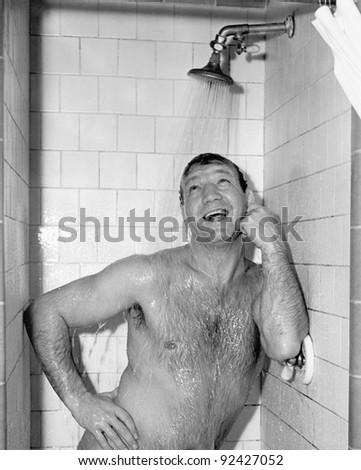 Фото голых мужиков в душе