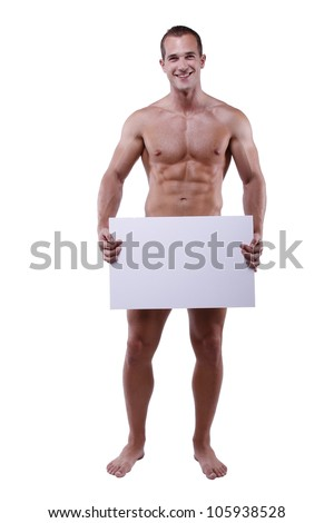 Similar Images, Stock Photos & Vectors of Naked black man