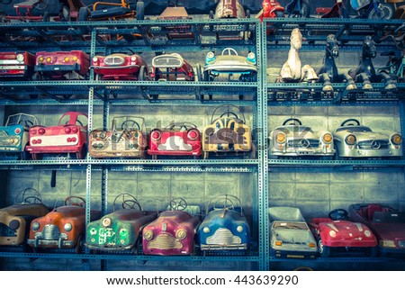 NAKHON PATHOM, THAILAND - JUNE 20, 2016: Jesada Technik Museum is the biggest vehicle museum in Thailand