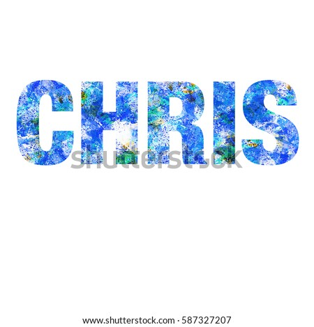 Chris Name Graphic Stock Images, Royalty-Free Images ...