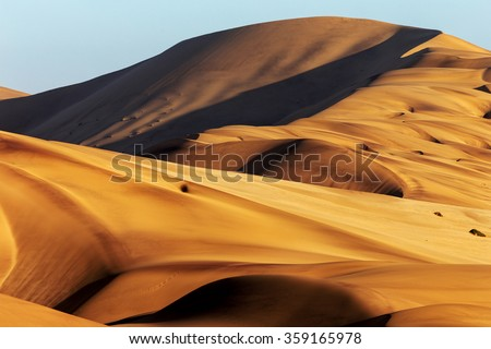 Namibia desert - stock photo