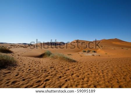 namibia desert - stock photo