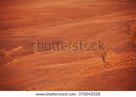 Namibia landscapes - stock photo