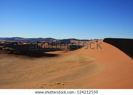 Namibia Namib Desert - stock photo