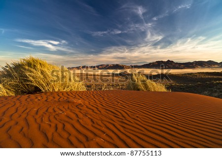 Namibrand Nature Reserve in Namibia