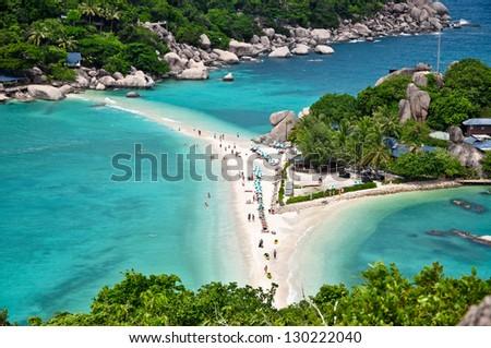 Nang Yuan Island - stock photo